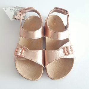 🆕️Girls Bronze/Copper Sandals